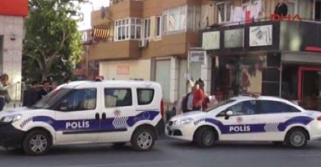 İstanbul Kartal'da banka soygunu