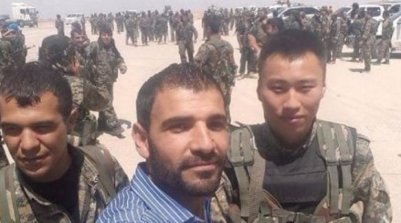 Japon askerleri de YPG saflarında görüntülendi
