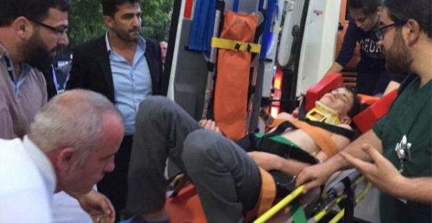 Kiraz ağacından düşen genç ağır yaralandı