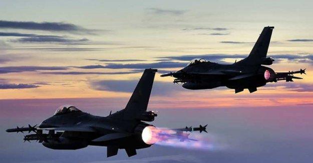 Kuzey Irak'a hava operasyonu!