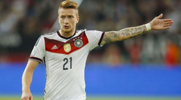 Marco Reus, EURO 2016 kadrosuna alınmadı