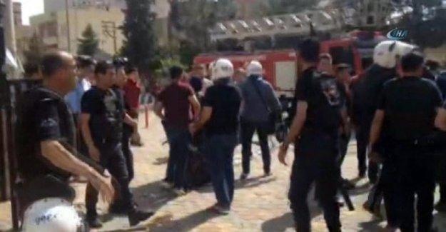 Mardin'de HDP mitingine müdahale: Demirtaş mahsur kaldı!