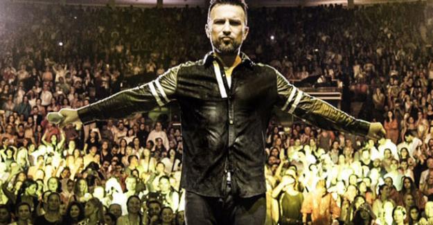Mega Star Tarkan'dan 600 bin dolarlık konser