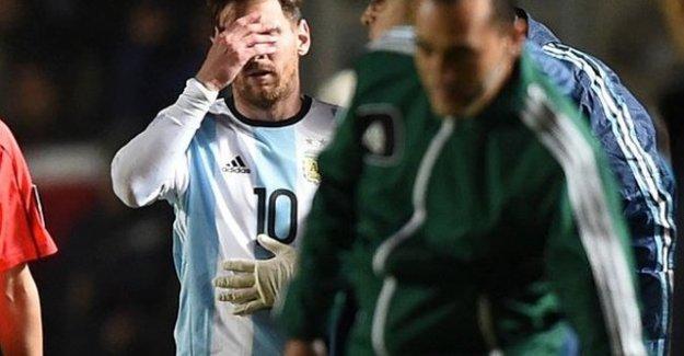 Messi hazırlık maçında sakatlandı