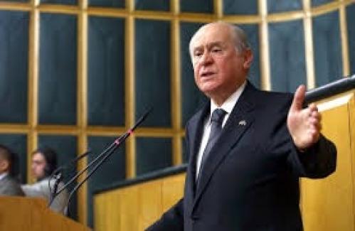 MHP lideri Devlet Bahçeli: HDP, TBMM'yi terörize etmektedir