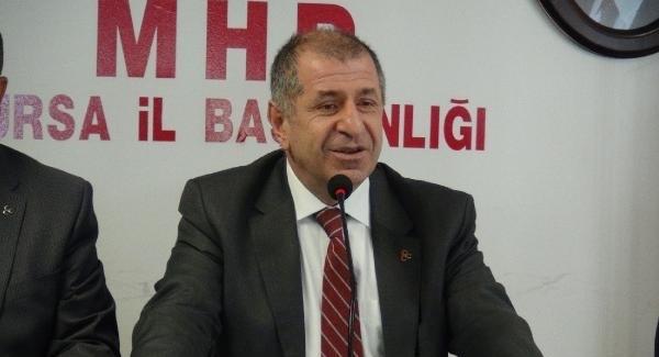 MHP'li Ümit Özdağ: Yüksek profilli genel başkan arayışı içerisindeyiz