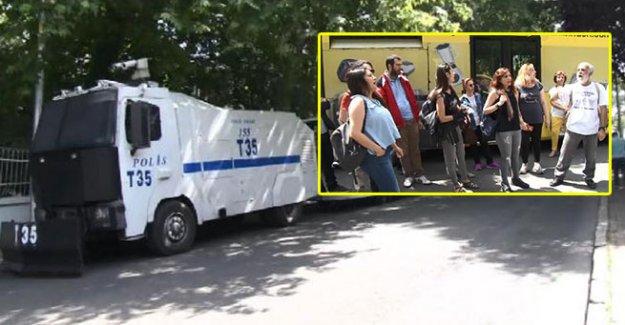 Mimarlar Odası Başkanı Mücella Yapıcı ve 15 kişine gözaltı