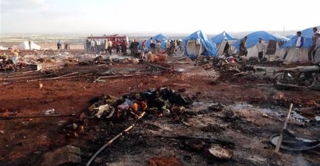Mülteci kampına hava saldırısı...28 mülteci hayatını kaybetti