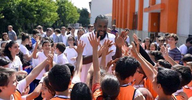 NBA yıldızı İstanbul'da