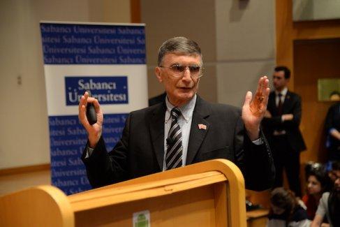 Nobel Ödüllü Bilim İnsanı Aziz Sancar Sabancı Üniversitelilerle Buluştu