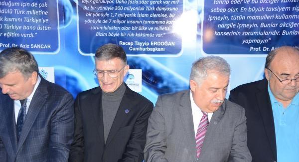 Nobel ödüllü Sancar, Konya'da adının verildiği laboratuvarın açılışına katıldı