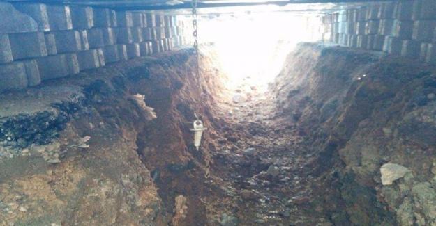 Nusaybin'de Teröristlere Tünel Darbesi