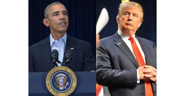 Obama'dan Trump'a eleştiri!