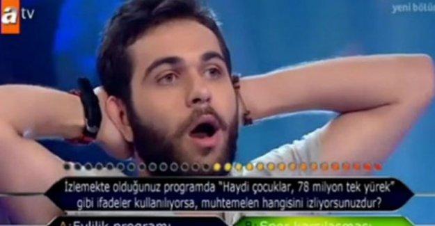 ODTÜ'lü yarışmacı 2.soruda elenince küfürü bastı!