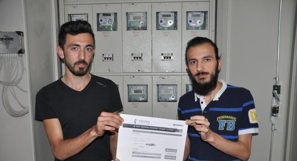 Öğrenci evine 120 bin liralık elektrik faturası