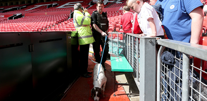 Old Trafford'da terör paniği