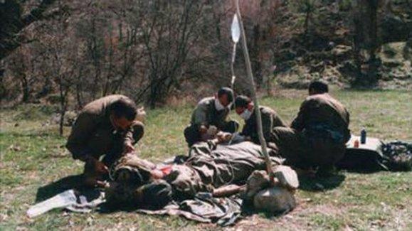 Öldürülen PKK'lının üstünden çıktı! İşte gizlice çekilmiş Kandil fotoğrafları
