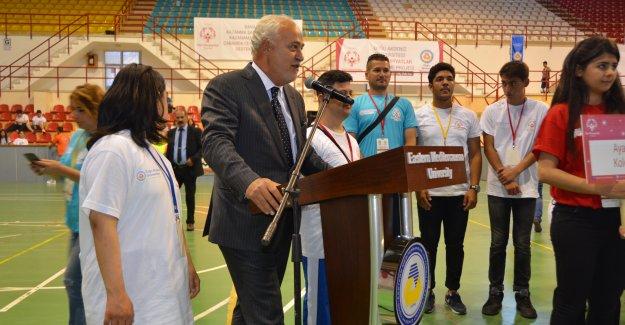 Özel Olimpiyatlar Türkiye Birleştirme Projesi Doğu Akdeniz Üniversitesi'nde