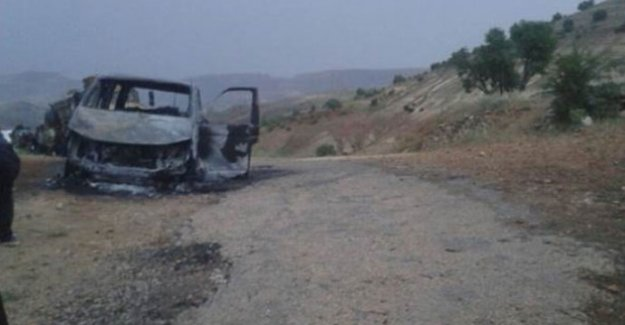 PKK'lılar muhtarı canlı canlı yaktı!