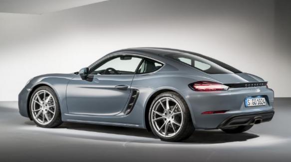 Porsche yeni modeli Cayman 718 ile boy gösterecek