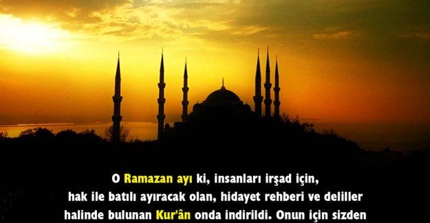Ramazan ne Zaman Başlıyor - Ramazan Bayramı Ne Zaman 9 gün tatil mi! -11 Ayın Sultanı!