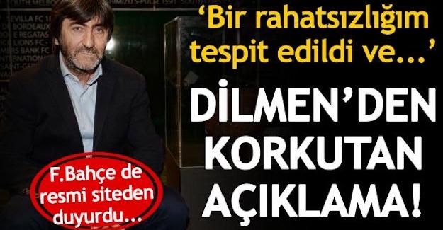 Rıdvan Dilmen'in Sağlık Durumu Hakkında Hastahane'den Açıklama