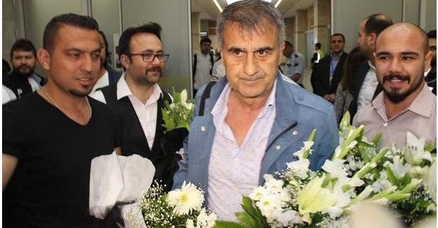Şampiyon Beşiktaş Konya'ya ulaştı