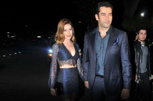 Sinem Kobal ve Kenan İmirzalıoğlu'nun düğününde brandalı önlem!