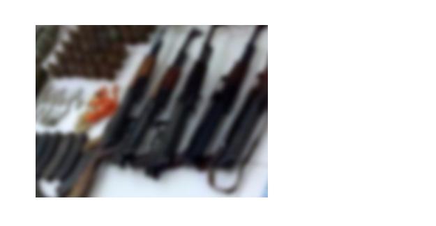 Sultangazi'de çuval içerisinde silahlar bulundu