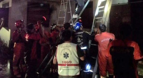Tayland'da 17 öğrenci yanarak can verdi
