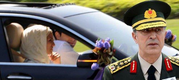 TSK açıkladı: Hulisi Akar düğüne neden katıldı?