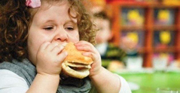 Türkiye'de 1.8 milyon çocuk obez bulunuyor