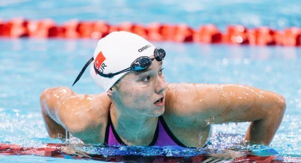 Viktoria Zeynep Güneş, 100 Metre Kurbağalamada Finalde