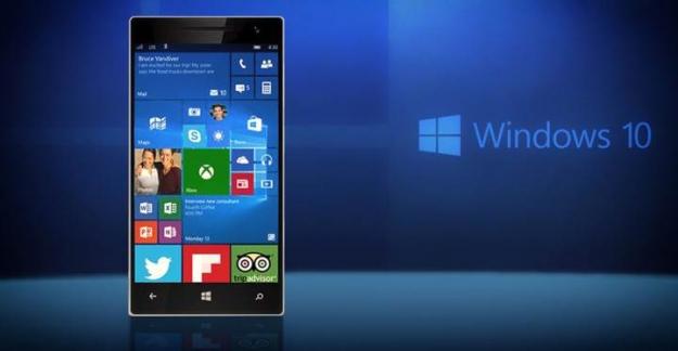 Windows 10 mobil'de parmak izi okuyucusu