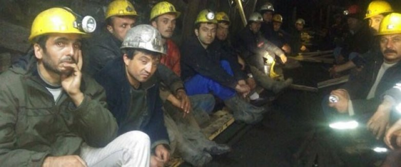 Zonguldak'ta ki madencilerin isyanını Başbakan durdurdu