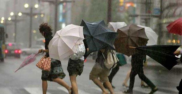 4 şehir için sağanak yağış uyarısı!