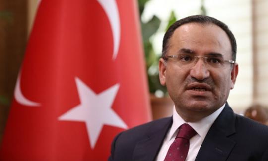 """Adalet Bakanı, """"CHP'liler teröristleri ziyaret etti"""""""