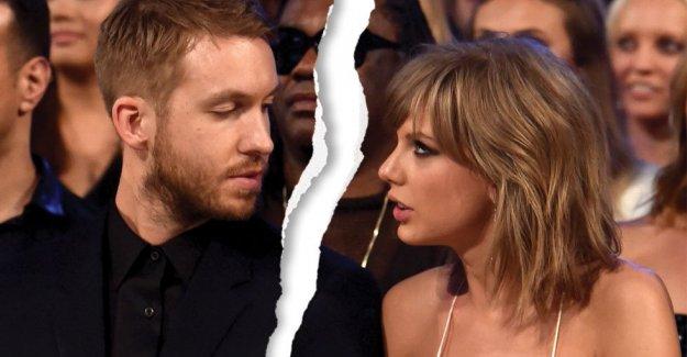 Calvin Harris, Taylor Swift'den ayrıldı