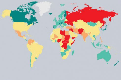 Çatışmaya dahil olmayan sadece 10 ülke var