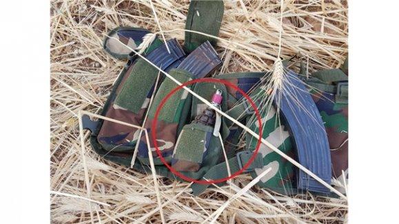 Cizre'de Rus yapımı el bombası!