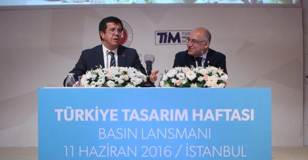 Ekonomi Bakanı Nihat Zeybekçi Türkiye Tasarım Haftası'nı tanıttı