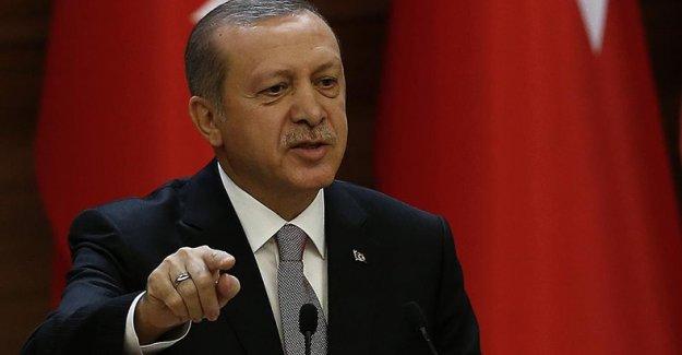 Erdoğan'dan Alman Parlamentosuna tepki: Bir talimat gelmiş olmalı