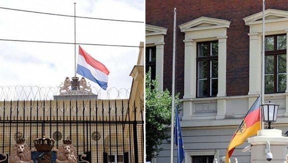 Hollanda ve Almanya elçiliklerinde 'Vezneciler saldırısı' duyarlılığı!