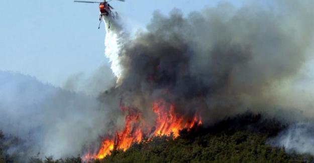 İstanbul'un iki yakasında yangın !