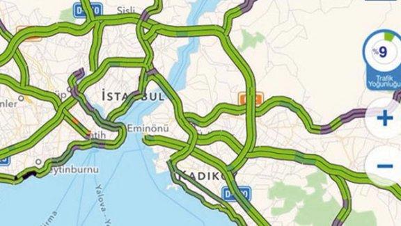 İstanbul'da ilk kez trafik yok