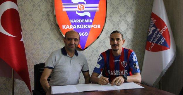 Kardemir Karabük Ahmet Şahin'i açıkladı