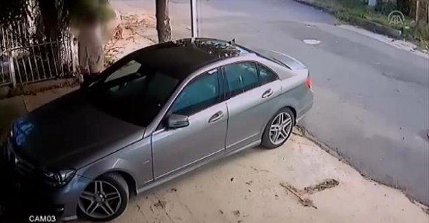 Komşusunun arabasını çizen adama 3 bin TL ceza