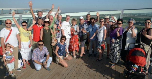 Kristal Kale Film Festivaline Gelecek Oyuncular EXPO 2016'yı Gezdi