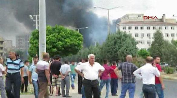 Midyat İlçe Emniyet Müdürlüğü önünde patlama, 2 şehit