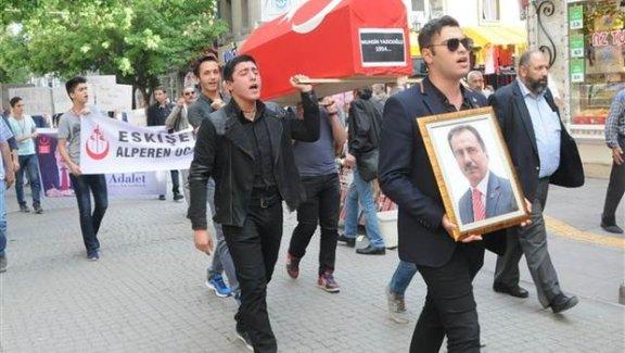 Muhsin Yazıcıoğlu'na cenaze töreni